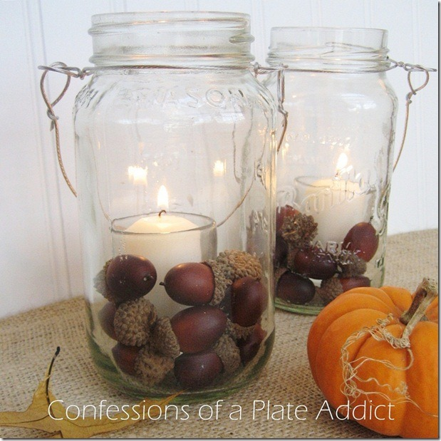 CONFESSIONS OF A PLATE ADDICT Mason Jar Candles
