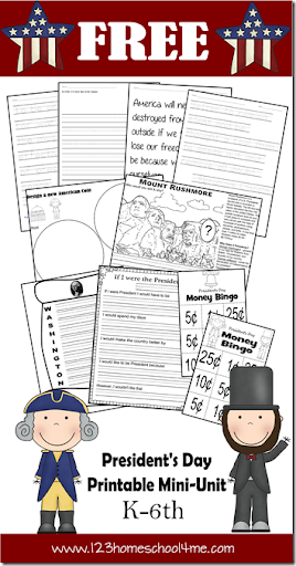 math worksheet : presidents day printable mini unit : Presidents Day Kindergarten Worksheets