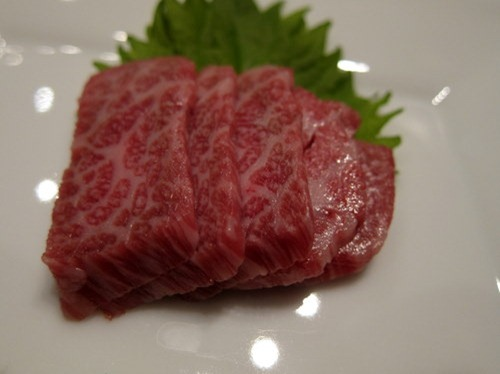 The Highest Award (Champion) Winning Kobe Beef Sashimi