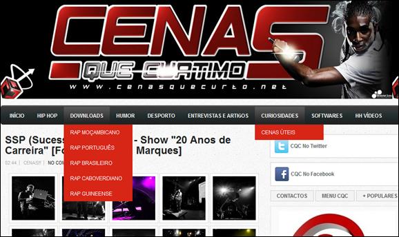 Blog 2011 - Menu