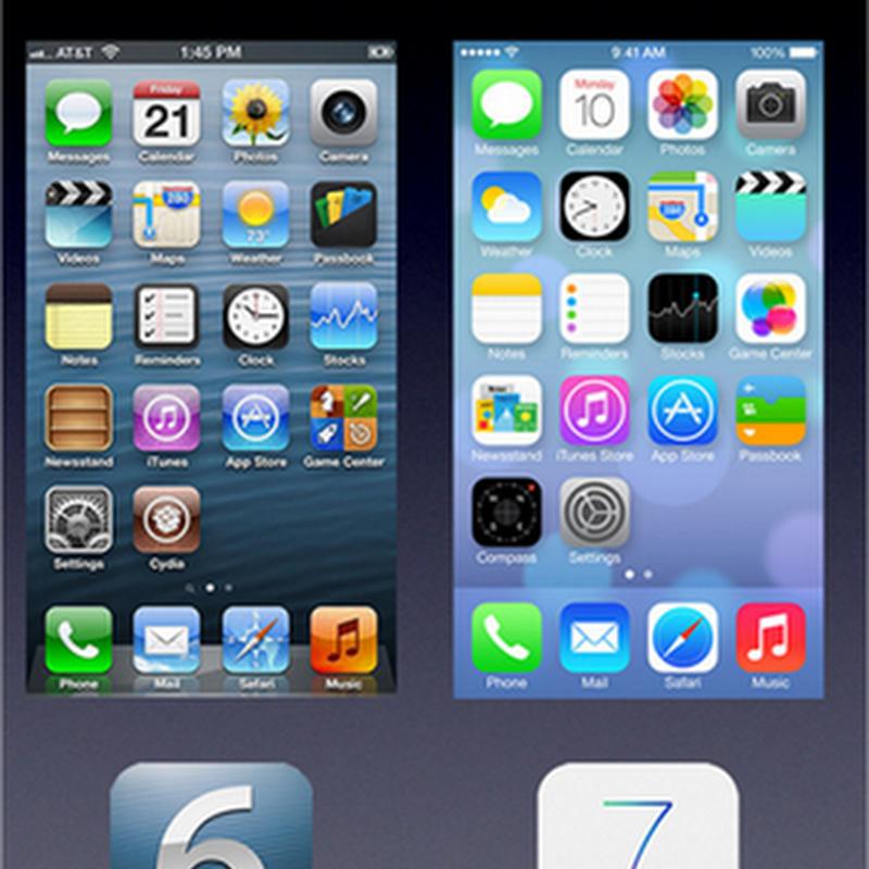 La evolución del diseño de interfaz de iOS