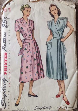 Vintage Simplicity 2275 | Lavender & Twill