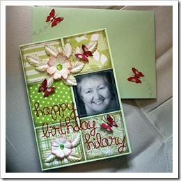 30 Hilary's Card