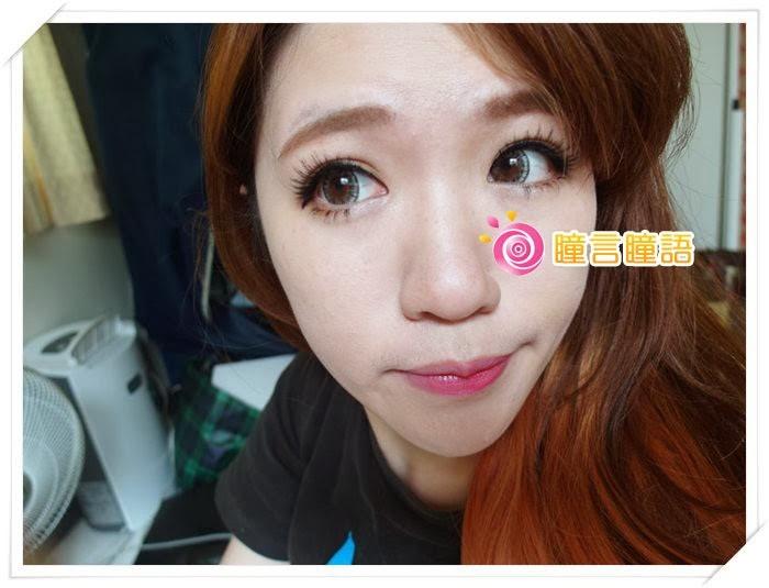 日本ROYAL VISION隱形眼鏡-混血四色灰SAM_1363