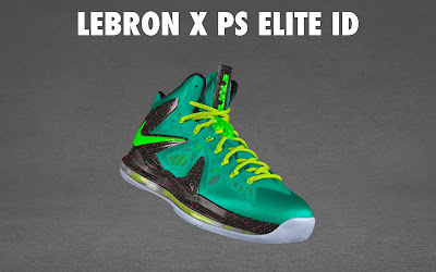 nike lebron 10 ps elite id options preview 1 06 NIKE LEBRON X PS ELITE Coming to Nike iD on April 23rd