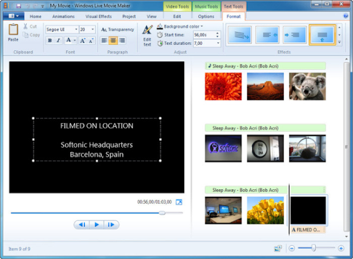 Descargar Windows Live Movie Maker 2011 gratis