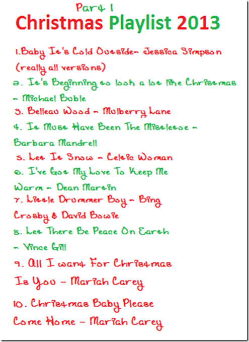 Christmas music part one