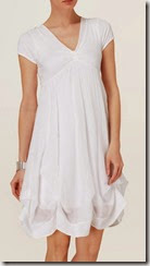 Phase Eight White Short Sleeve Summer Dress