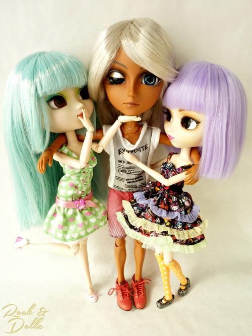 Naoko (Prunella) + Violetta + Taeyang Sol