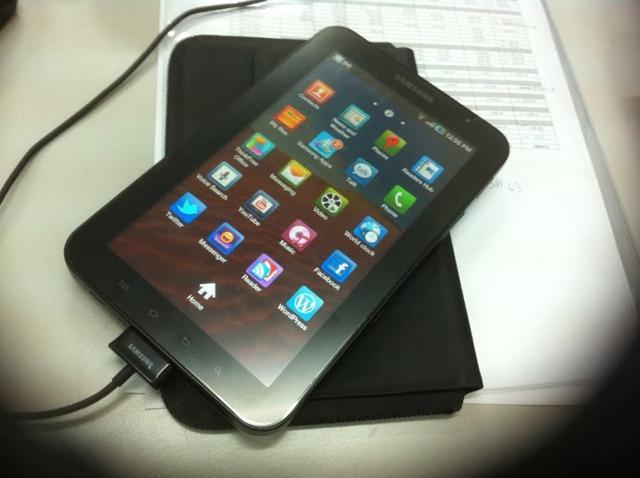 Tutorial tetapan Internet/3G untuk Samsung Galaxy Tab P1000