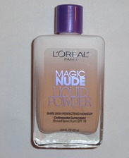 L'Oreal Magic Nude Liquid Powder Foundation