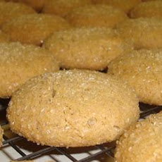 Spice Cookies with Crystallized Ginger