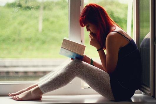 women redheads feet reading window leggings barefoot 1280x854 wallpaper_www.wallpaperfo.com_37
