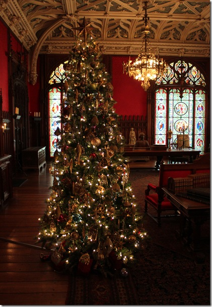 good design  gothic revival styled christmas tree