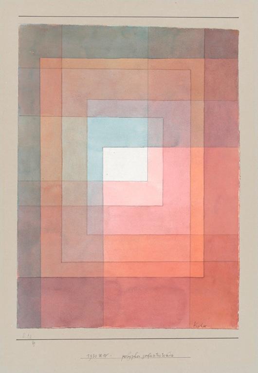 Paul Klee polyphon gefasstes Weiss 1930 Zentrum Paul Klee Bernkl1