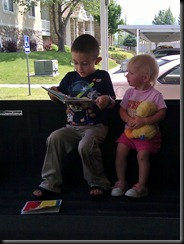 6-11-2011 reading to kaydence