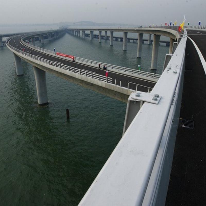 Oh Yeah : Jambatan Terpanjang Di Dunia Di China Sudah Siap!