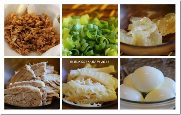 GOTO (FILIPINO BEEF CONGEE) TOPPINGS© BUSOG! SARAP! 2011