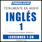 ESL Spanish Phase1 PIMSLEUR: Curso de Inglés para Hispanohablantes (English for Spanish Speakers)