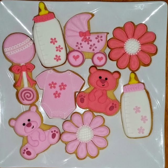 for baby girl cookies