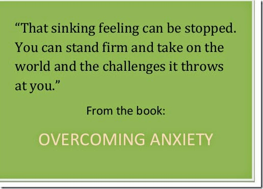 Overcoming Anxiety Quote