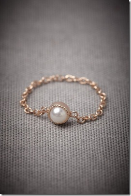 BHLDN Jeweled Links Ring