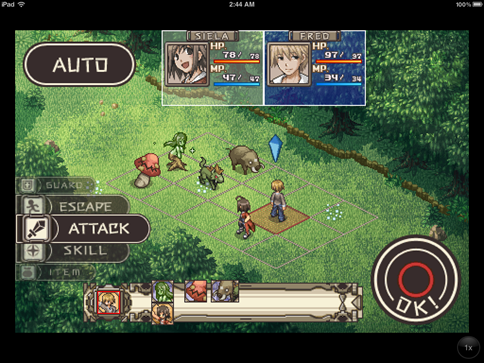 adventure bar story battle ipad