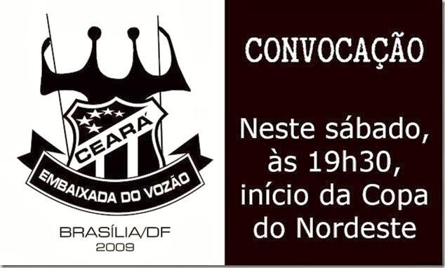 Convocacao Copa Nordeste