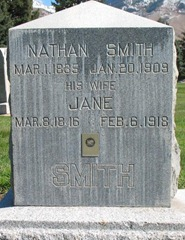 Nathan Smith & Jane Sant