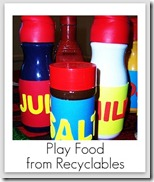 playfood from recyclables
