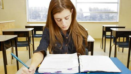 concentrarse en el estudio