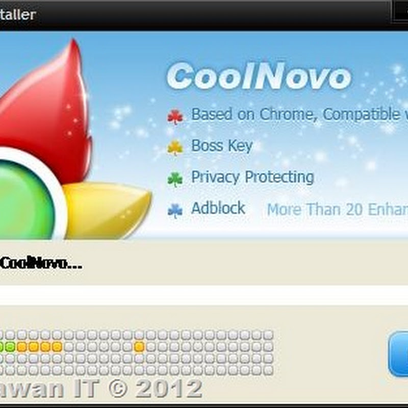 CoolNovo Browser, Kombinasi Chrome dan IE