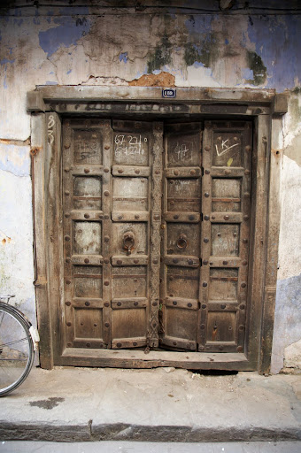 Many amazing doors in Zanzibar