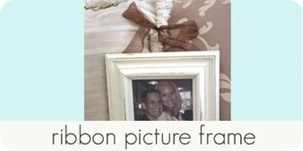 ribbon picture frame