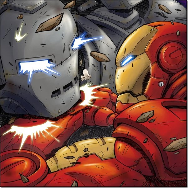 Iron Man sus mejores imágenes e ilustraciones