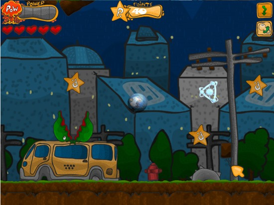 Help Torkven prevent all disasters and catastrophes from the outer space!