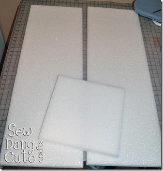 Styrofoam-Pieces