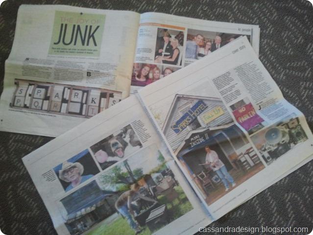 SparksNewspaperArticle