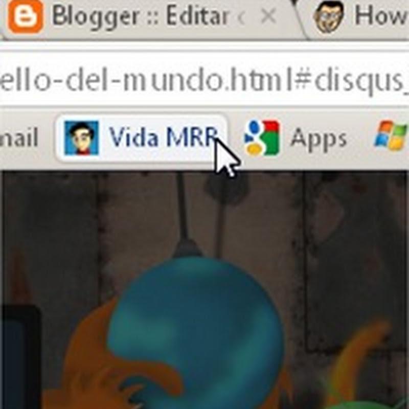 Insertar un favicon en Blogger de forma nativa