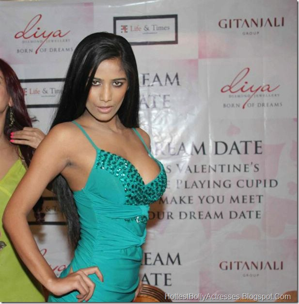 Poonam Pandey Hot Pics in Tight Dress 5