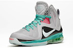 nike lebron 9 ps elite grey candy pink 9 02 official LeBron 9 P.S. Elite Miami Vice Official Images & Release Date