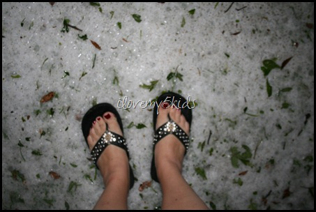 Hailstorm in Texas 2012