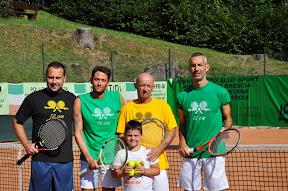 Damiano Mozzoni, Federico Fausti, Roberto Mineni e Mauro Buscio