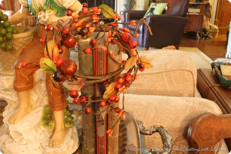Fall Decor-Bargain Hunting with Laurie