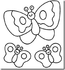 colorear mariposas pintaryjugar com (14)