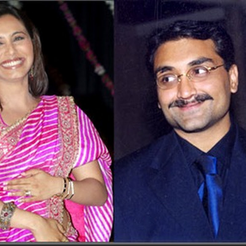 Rani Mukherjee and Aditya Chopra married secretly!