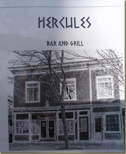 Hercules menu