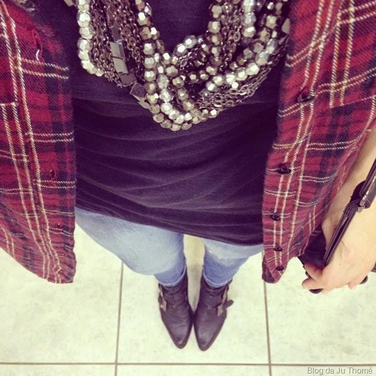 look jeans, bota e camisa de flanela (1)