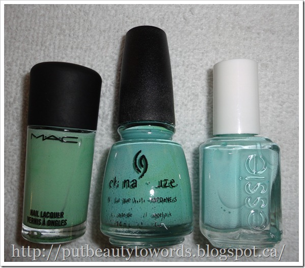 Writing Beauty: My Favourite Nail Polishes for Spring