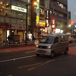 streets of tokyo in Shinjuku, Tokyo, Japan